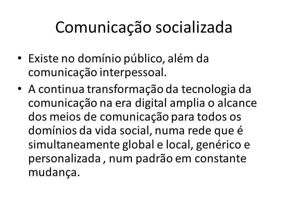 Comunicação socializada