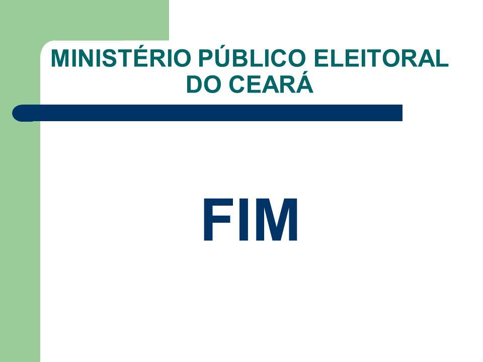 MINISTÉRIO PÚBLICO ELEITORAL DO CEARÁ