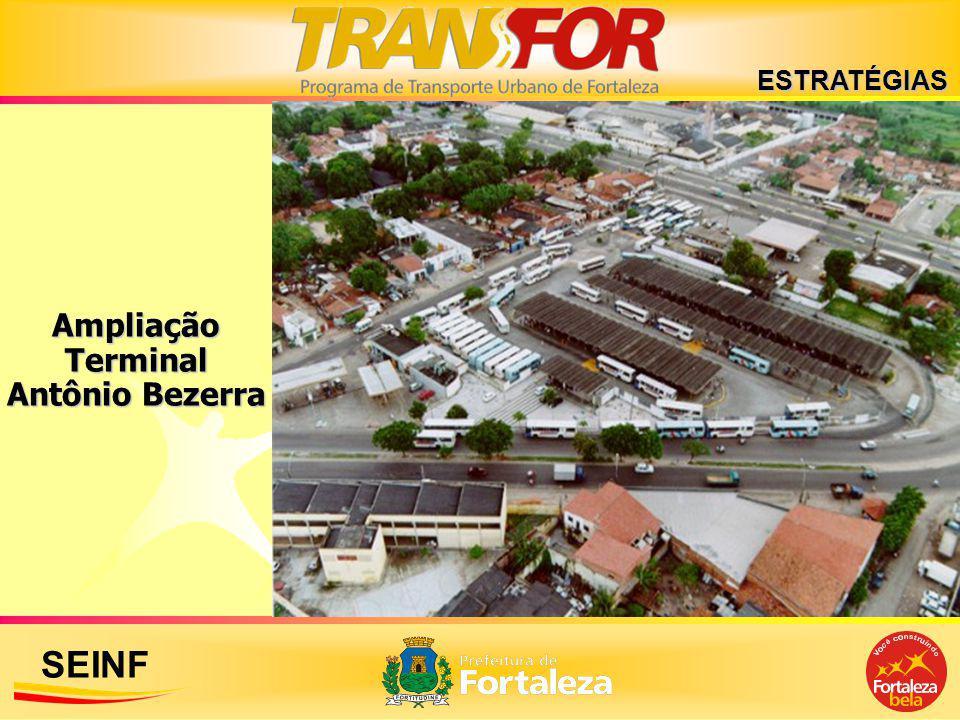 Ampliação Terminal Antônio Bezerra