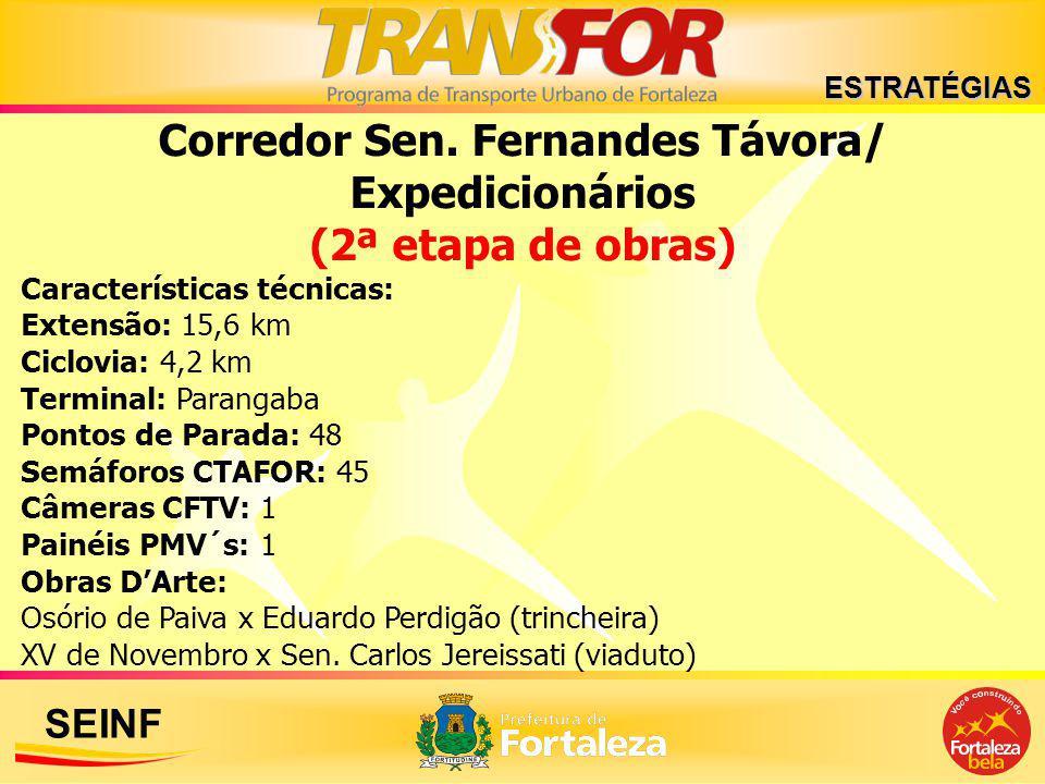 Corredor Sen. Fernandes Távora/ Expedicionários