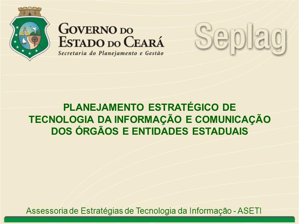 PLANEJAMENTO ESTRATÉGICO DE TECNOLOGIA DA INFORMAÇÃO E COMUNICAÇÃO