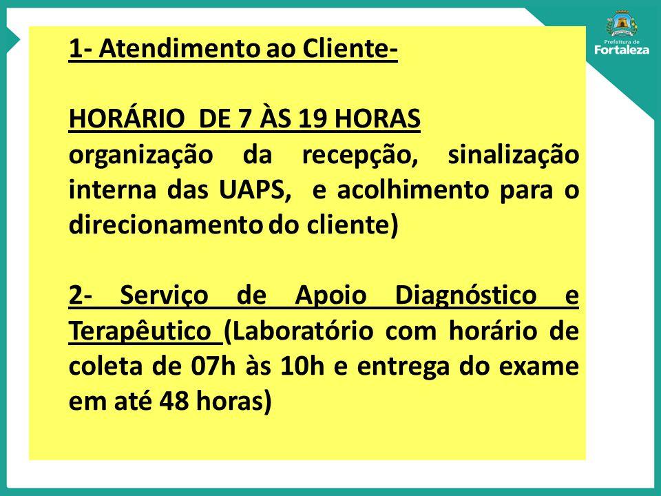 1- Atendimento ao Cliente-