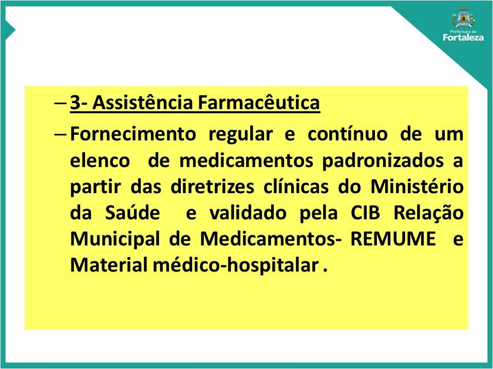 3- Assistência Farmacêutica