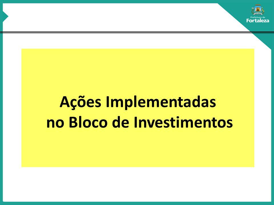 no Bloco de Investimentos
