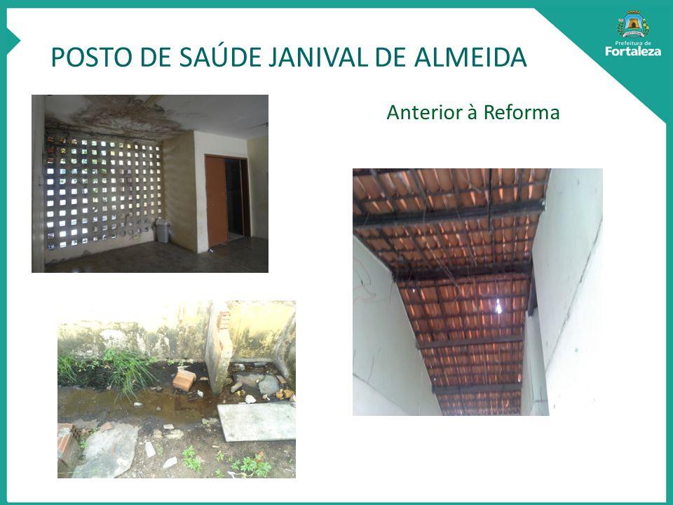 POSTO DE SAÚDE JANIVAL DE ALMEIDA