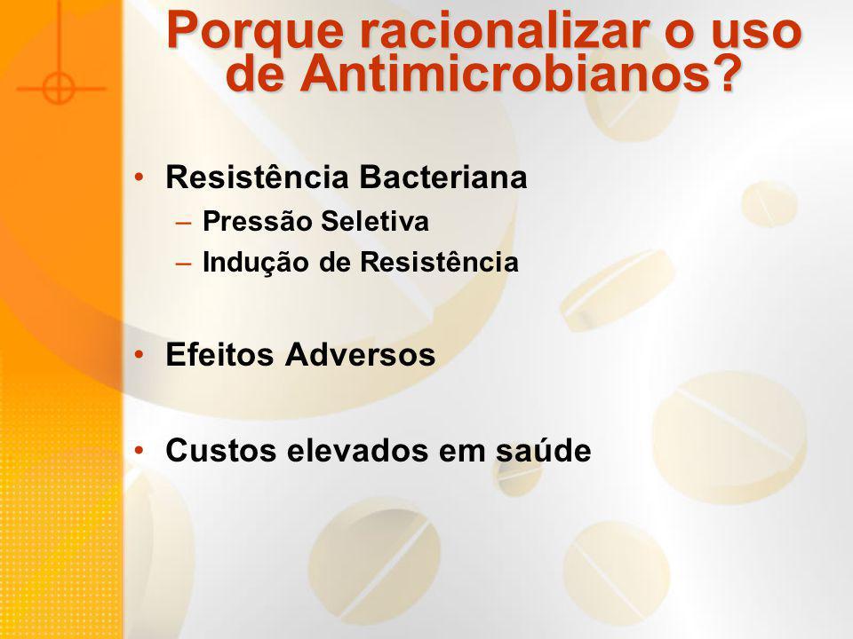 Porque racionalizar o uso de Antimicrobianos