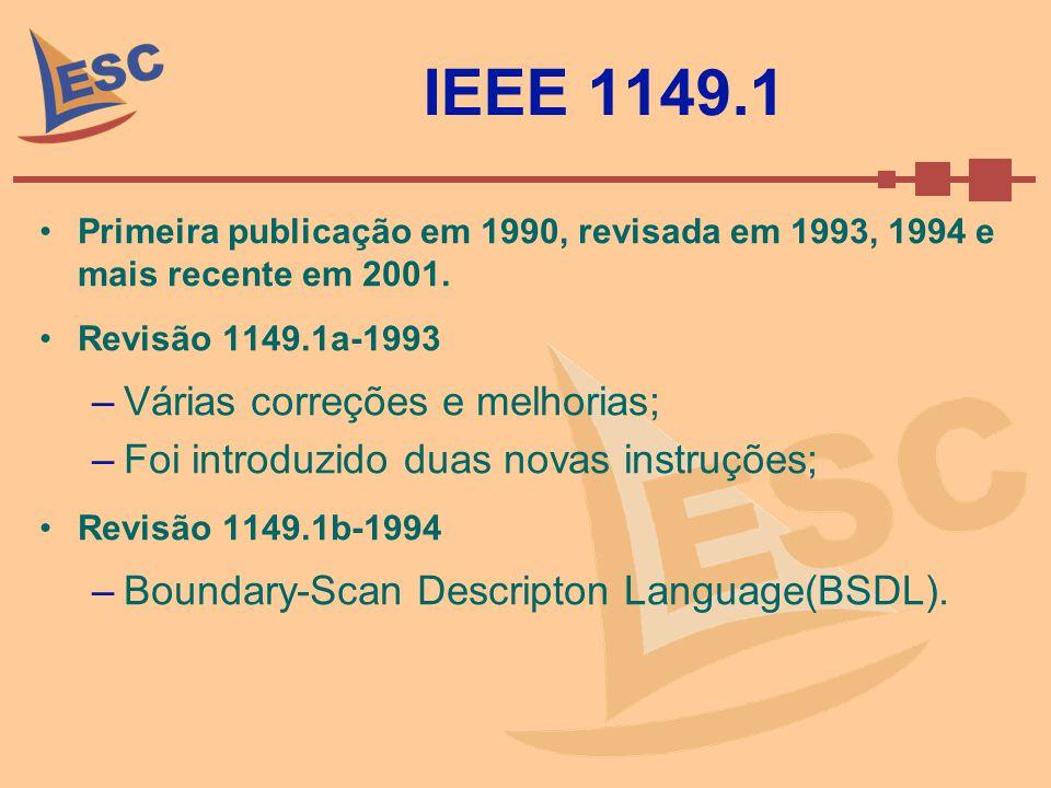 IEEE 1149.1 Várias correções e melhorias;