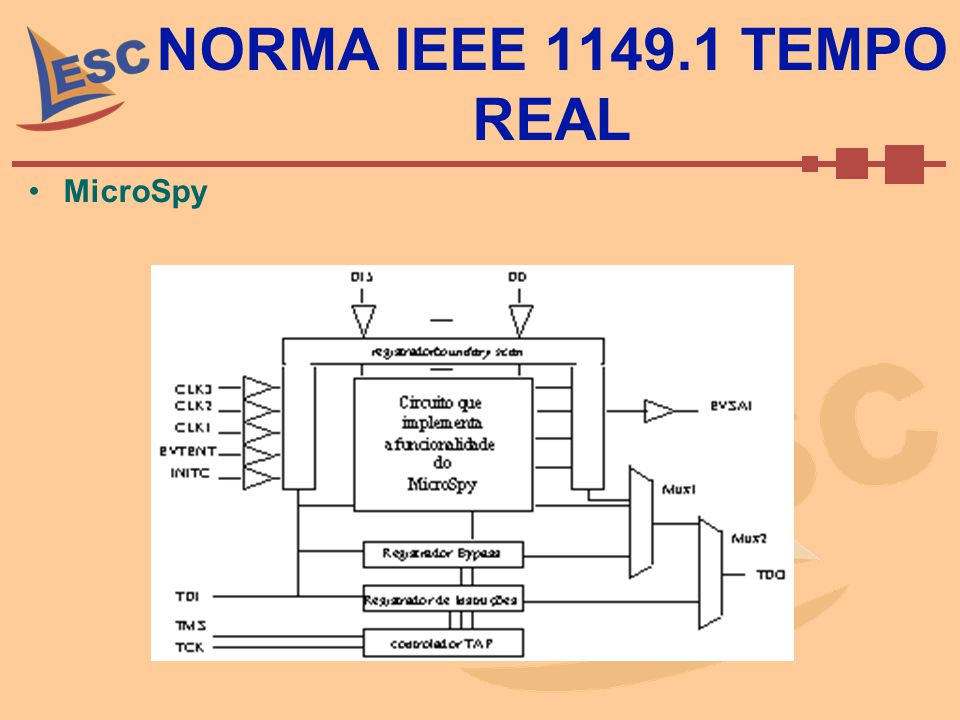 NORMA IEEE 1149.1 TEMPO REAL MicroSpy