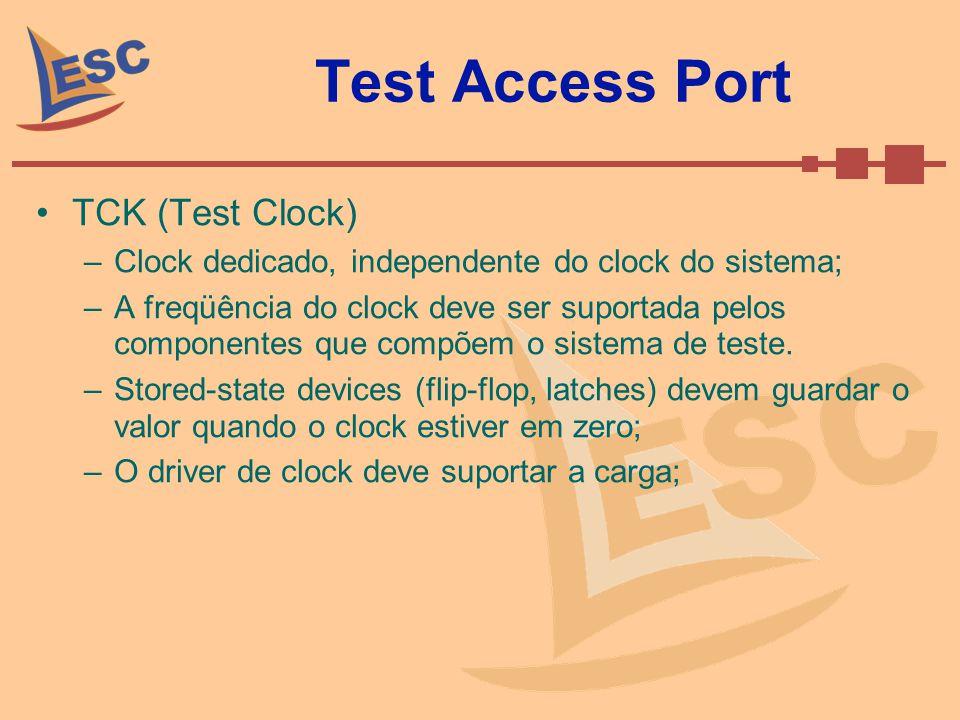 Test Access Port TCK (Test Clock)