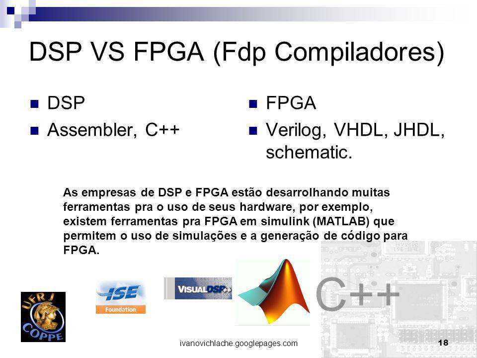 DSP VS FPGA (Fdp Compiladores)
