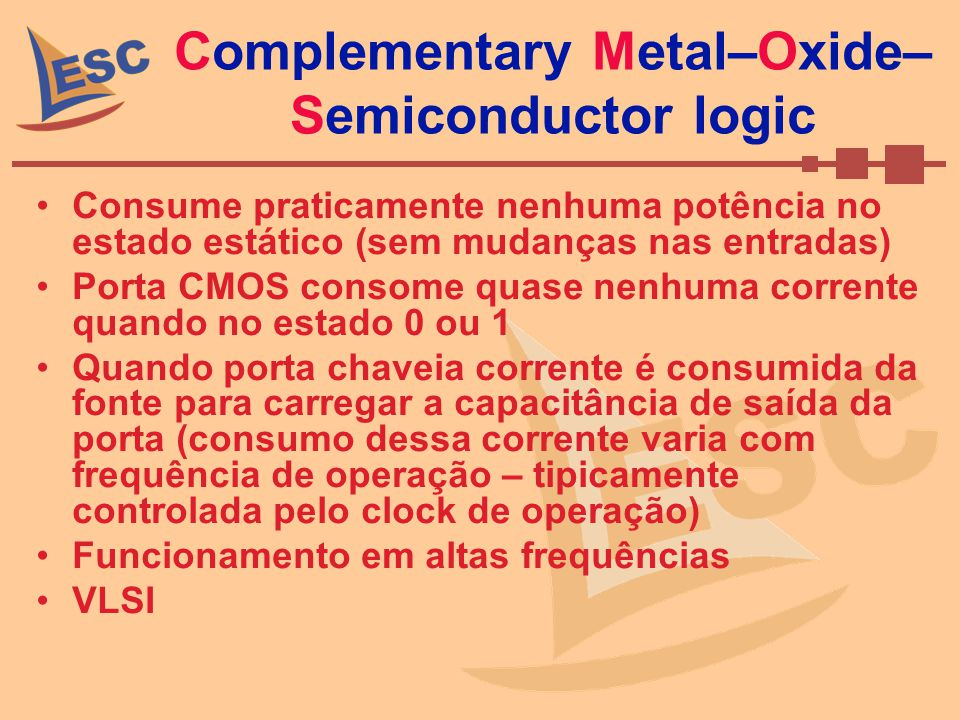 Complementary Metal–Oxide–Semiconductor logic