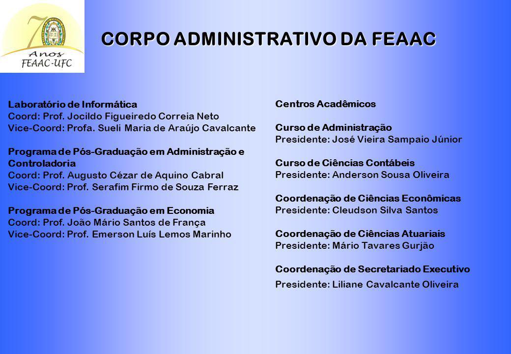 CORPO ADMINISTRATIVO DA FEAAC