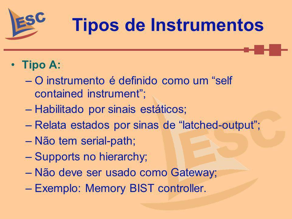 Tipos de Instrumentos Tipo A: