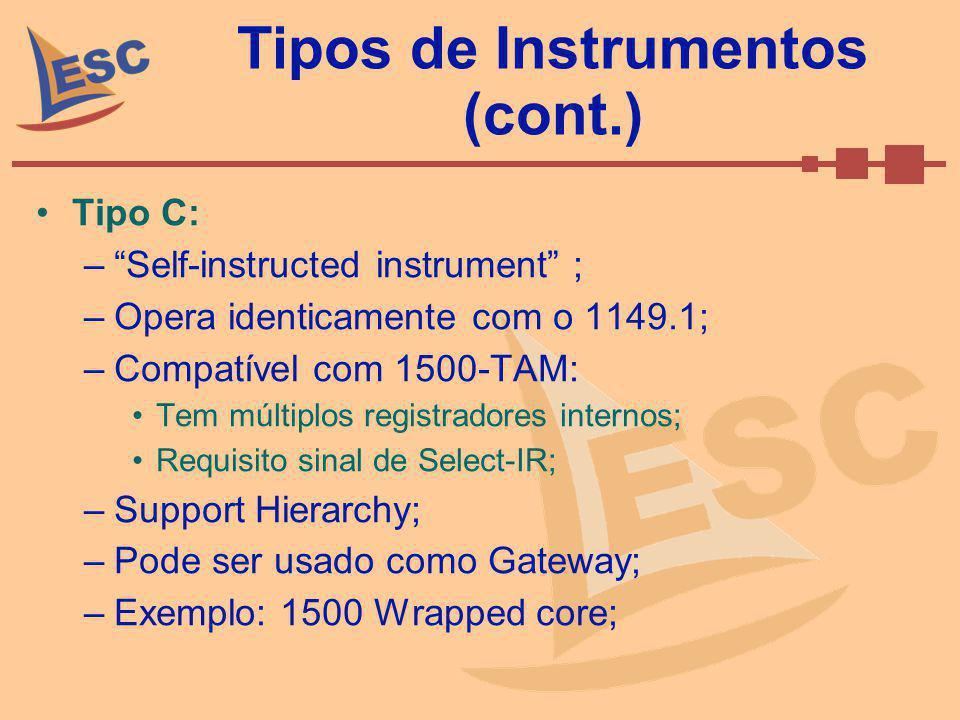 Tipos de Instrumentos (cont.)