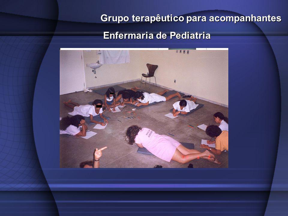 Grupo terapêutico para acompanhantes