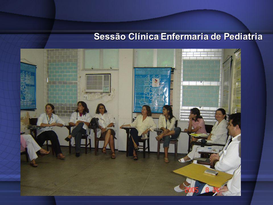 Sessão Clínica Enfermaria de Pediatria