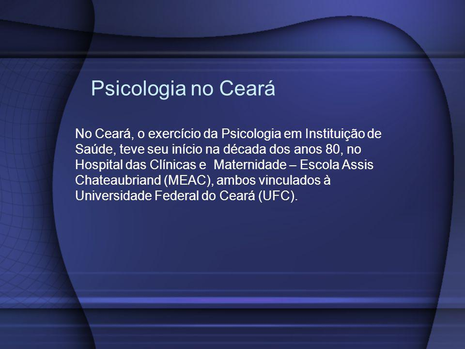 Psicologia no Ceará