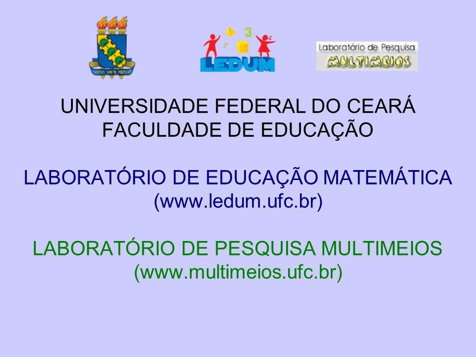 UNIVERSIDADE FEDERAL DO CEARÁ FACULDADE DE EDUCAÇÃO