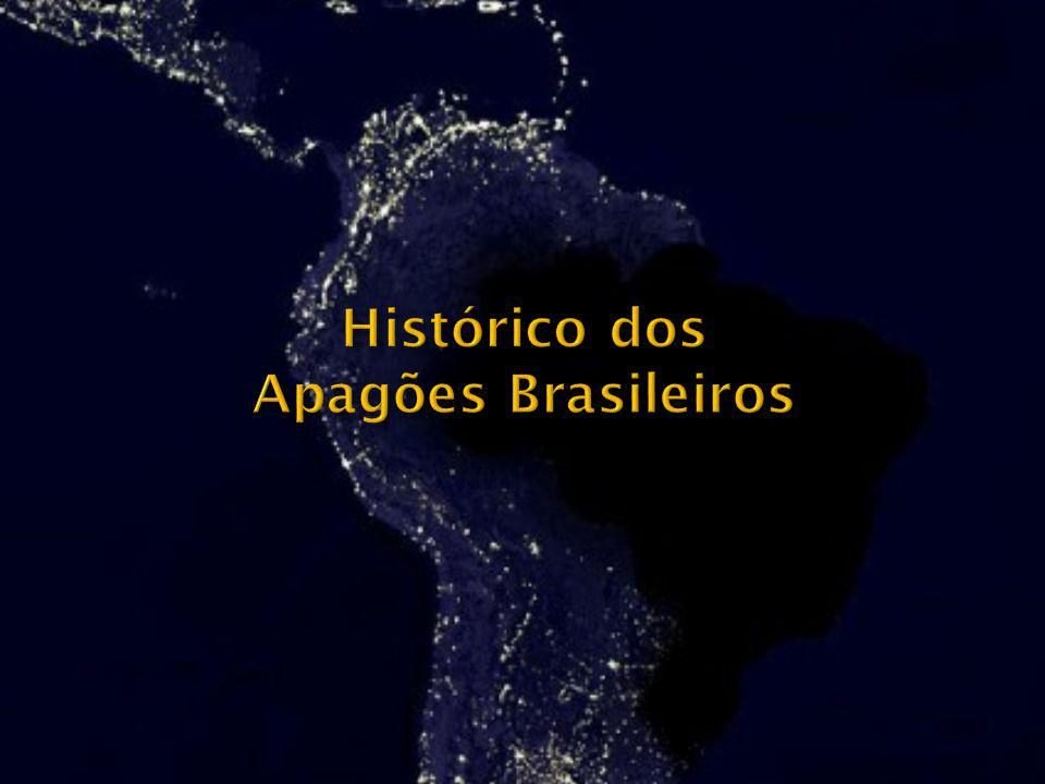 Histórico dos Apagões Brasileiros