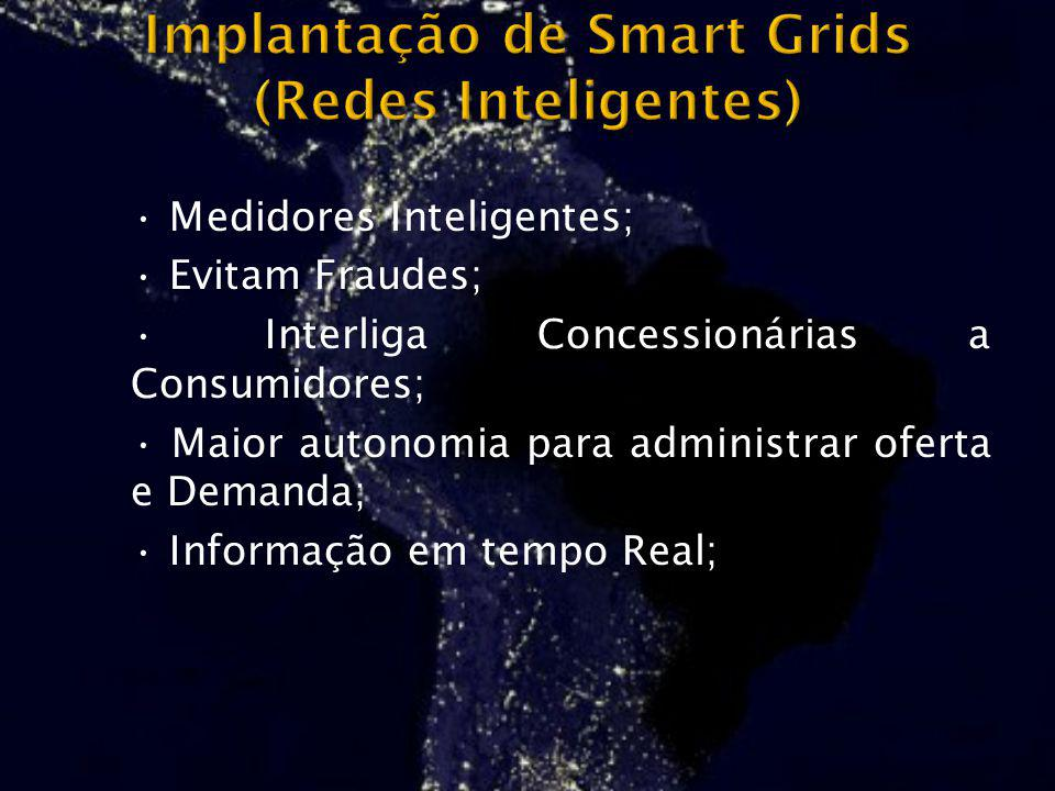 Implantação de Smart Grids (Redes Inteligentes)