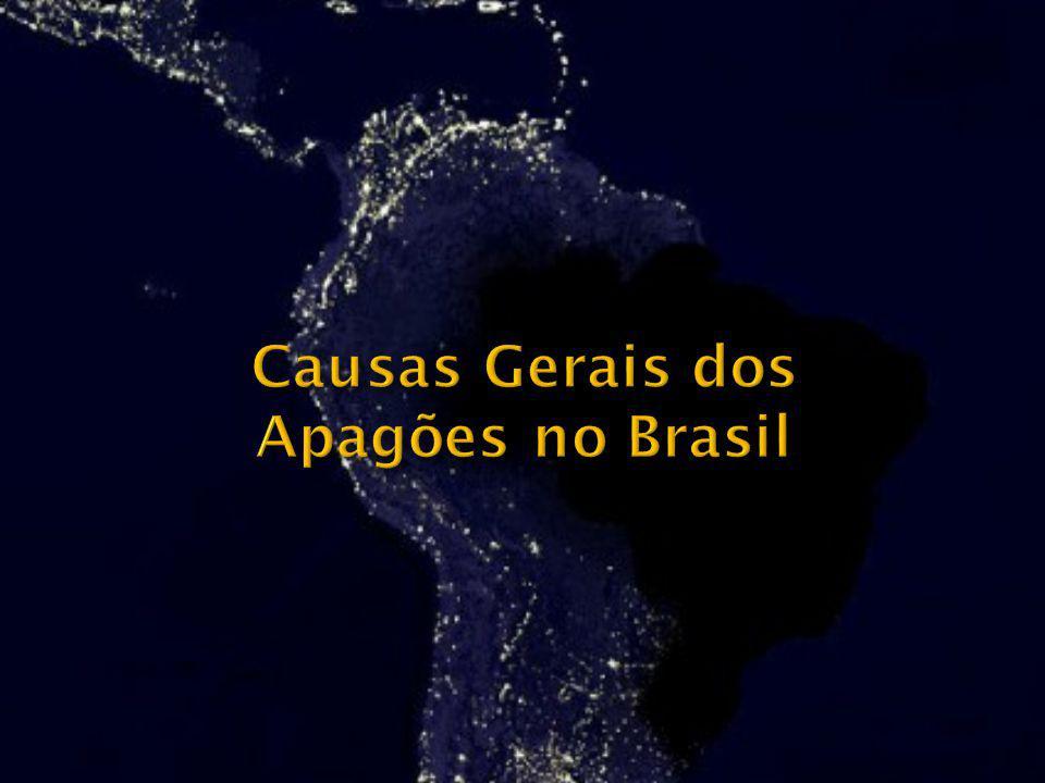 Causas Gerais dos Apagões no Brasil