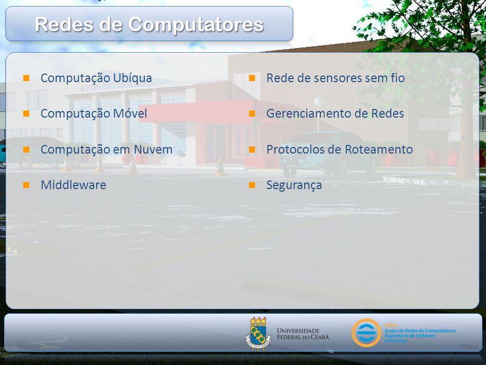 Redes de Computatores Computação Ubíqua Computação Móvel