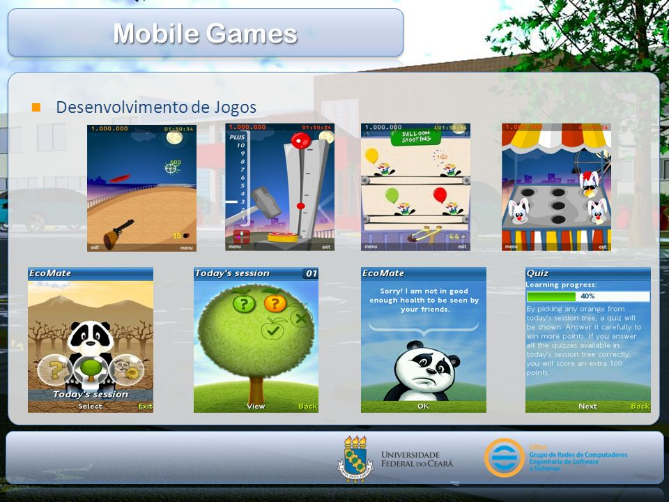 Mobile Games Desenvolvimento de Jogos