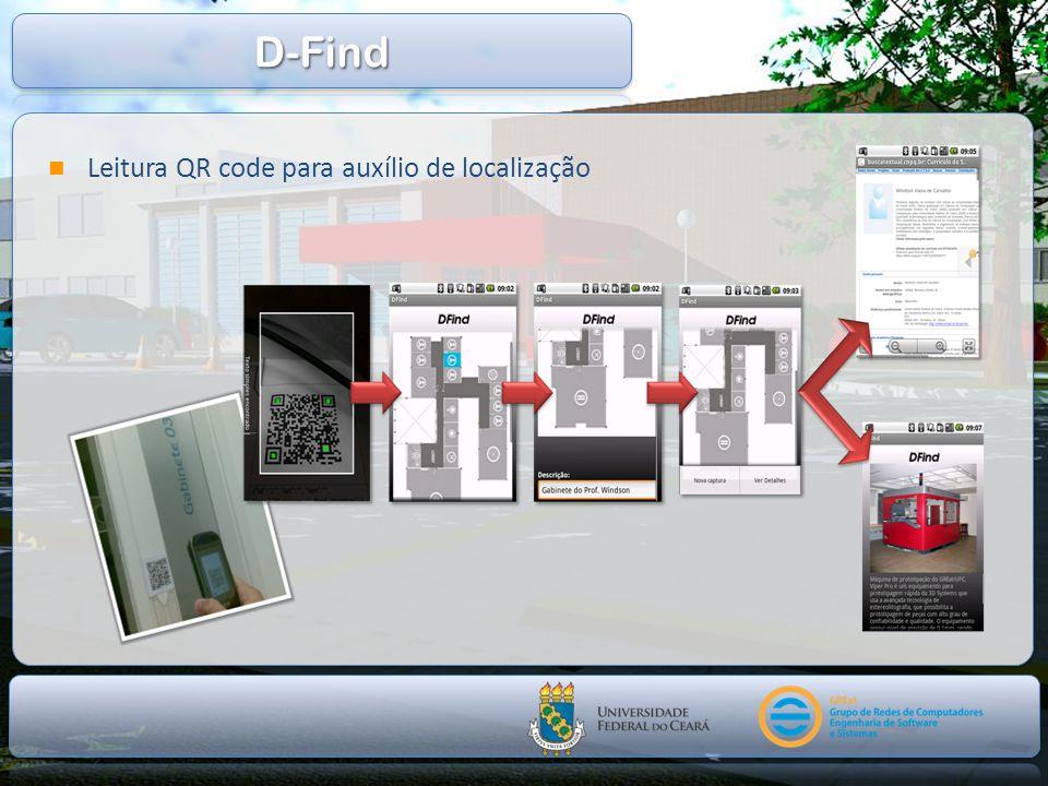 D-Find Leitura QR code para auxílio de localização