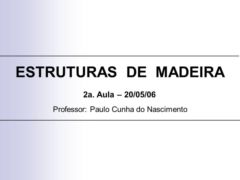 Professor: Paulo Cunha do Nascimento