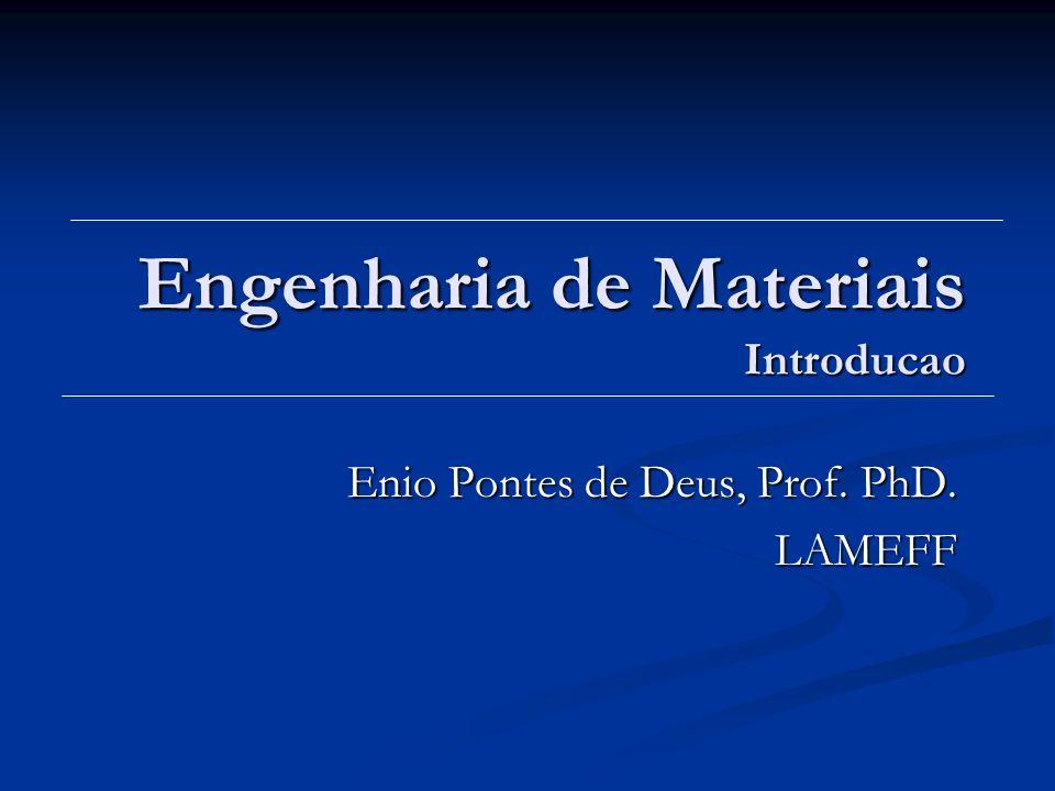 Engenharia de Materiais Introducao