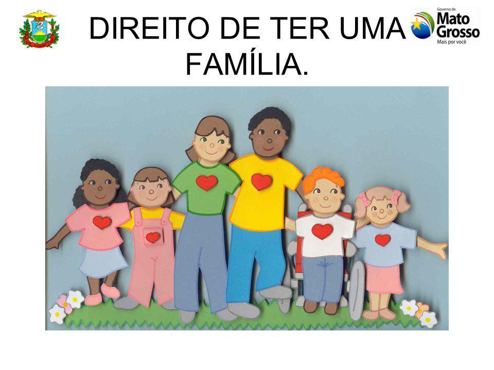 DIREITO DE TER UMA FAMÍLIA.