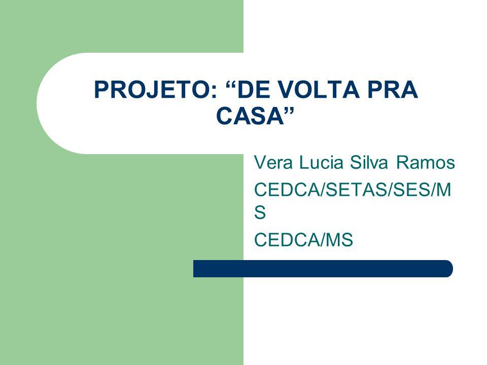 PROJETO: DE VOLTA PRA CASA