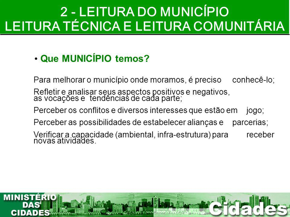 LEITURA TÉCNICA E LEITURA COMUNITÁRIA