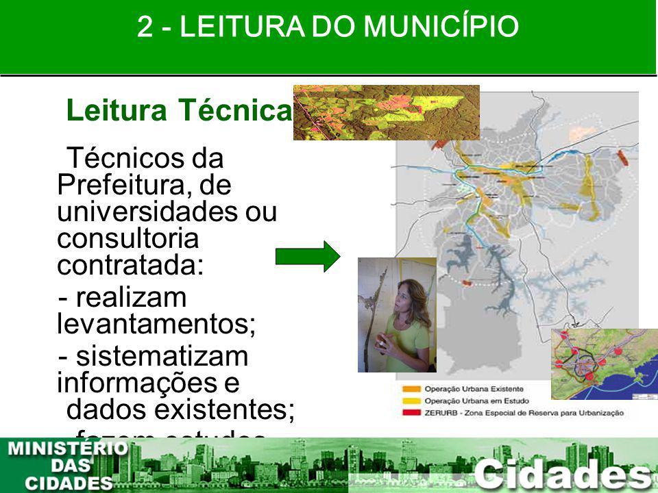 Leitura Técnica 2 - LEITURA DO MUNICÍPIO