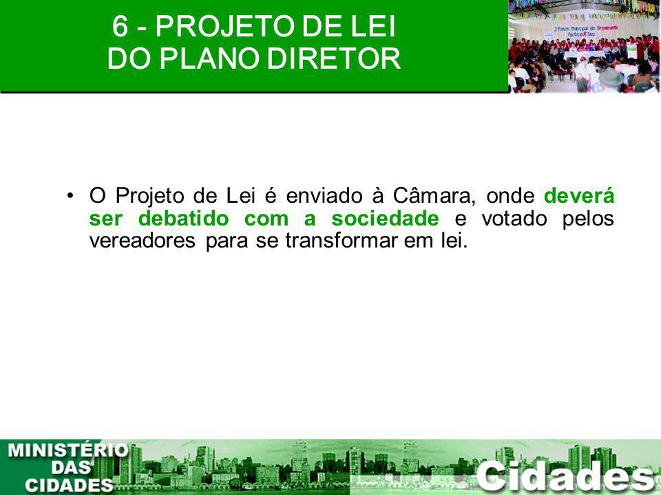 6 - PROJETO DE LEI DO PLANO DIRETOR
