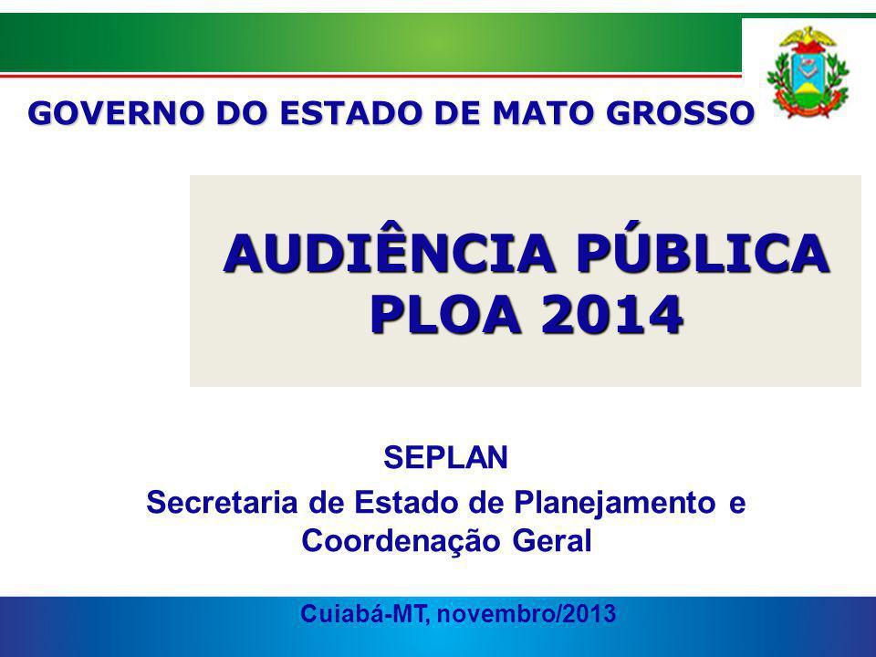 AUDIÊNCIA PÚBLICA PLOA 2014