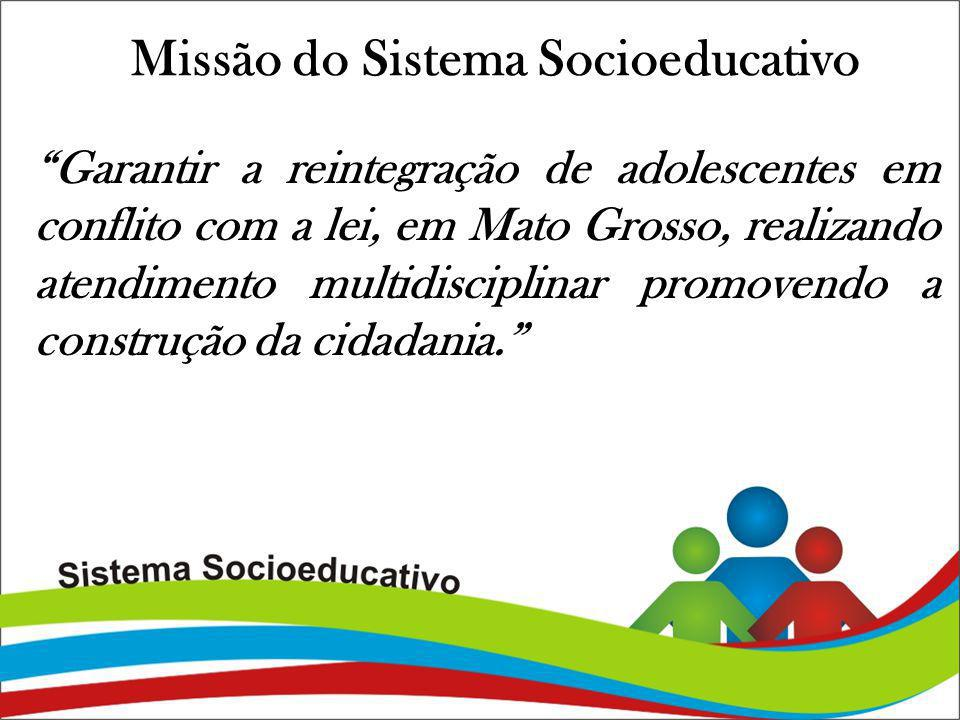 Missão do Sistema Socioeducativo