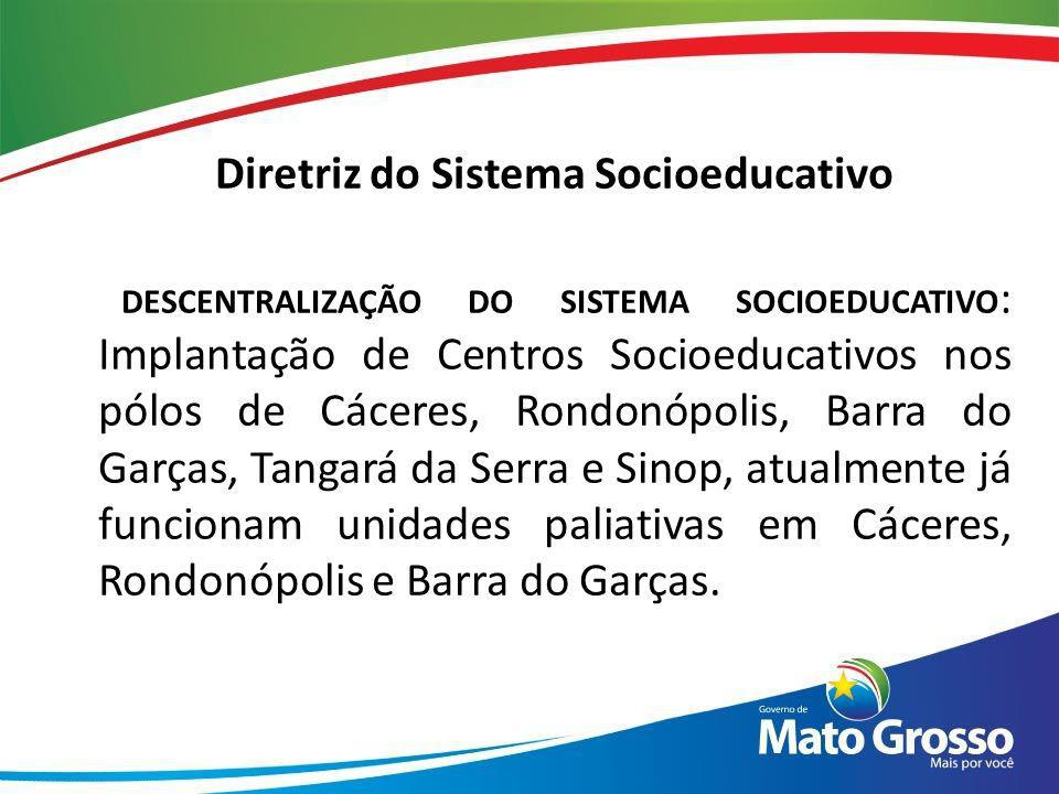 Diretriz do Sistema Socioeducativo
