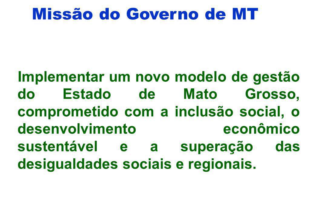 Missão do Governo de MT