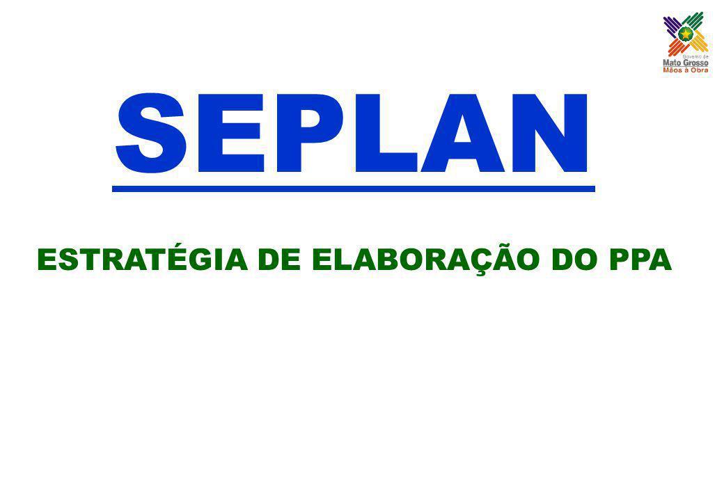ESTRATÉGIA DE ELABORAÇÃO DO PPA