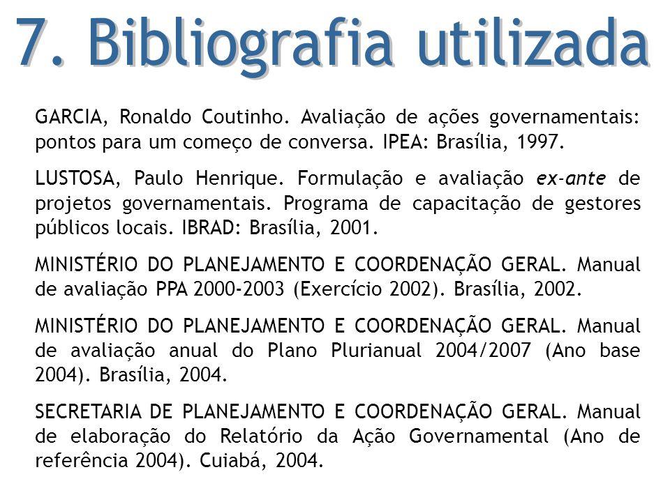 7. Bibliografia utilizada