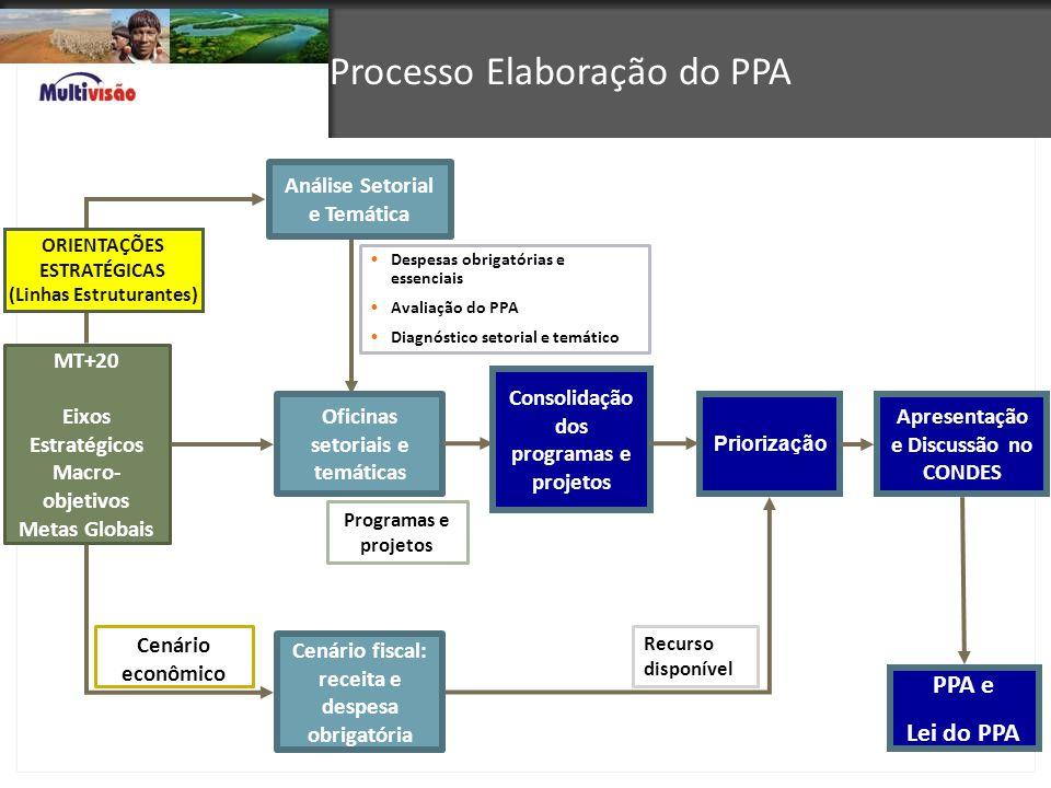 Processo Elaboração do PPA