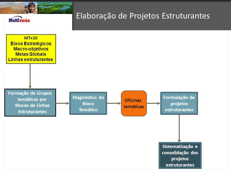Elaboração de Projetos Estruturantes