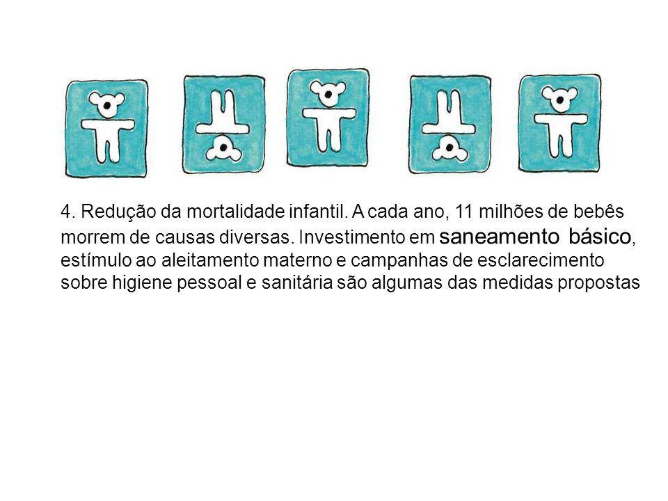 4. Redução da mortalidade infantil