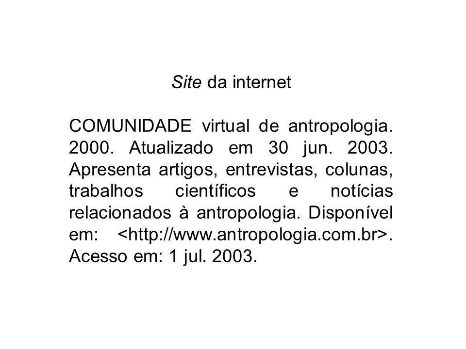 Site da internet