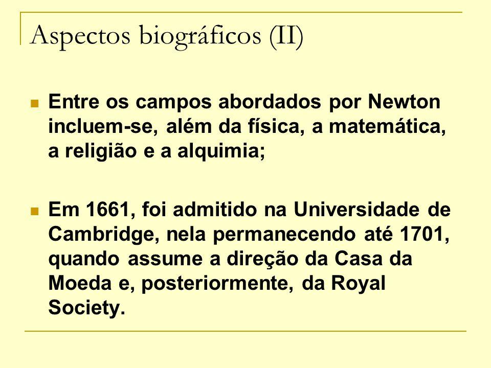 Aspectos biográficos (II)