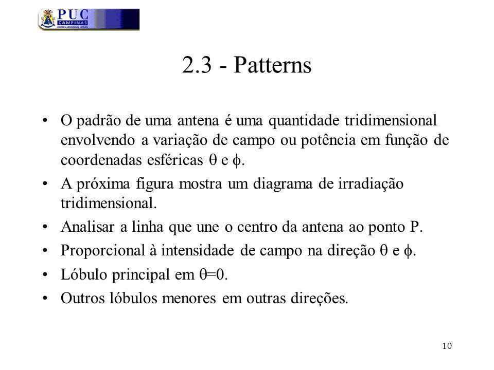 2.3 - Patterns