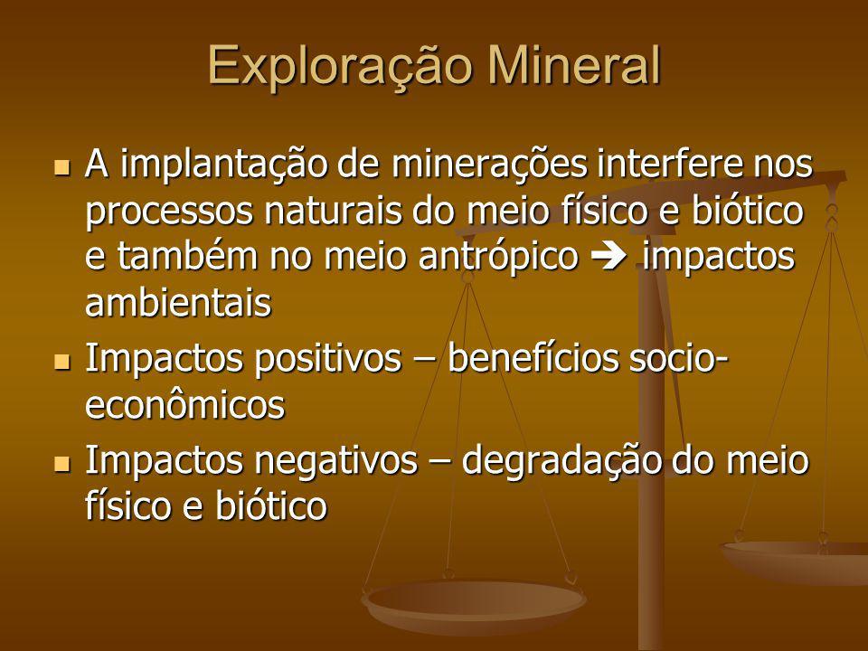 Exploração Mineral