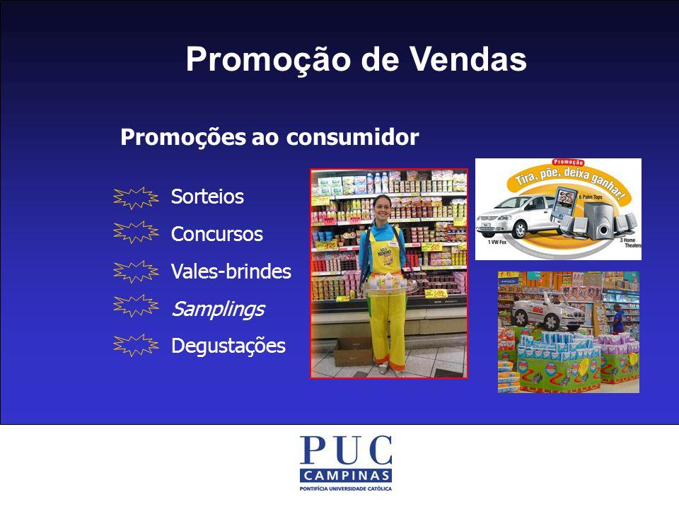 Promoção de Vendas Promoções ao consumidor Sorteios Concursos