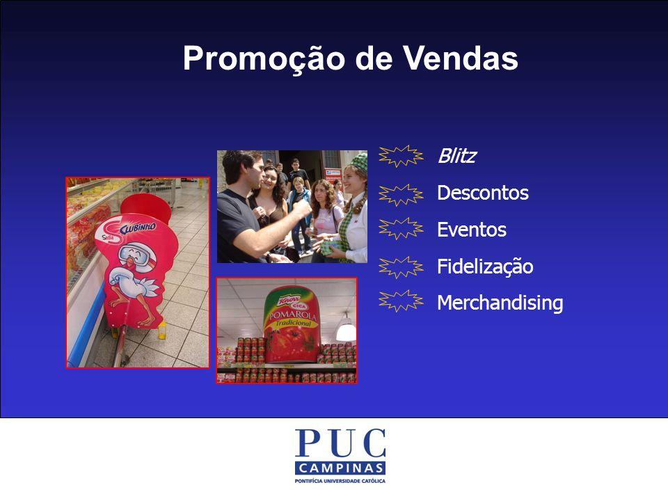 Promoção de Vendas Blitz Descontos Eventos Fidelização Merchandising